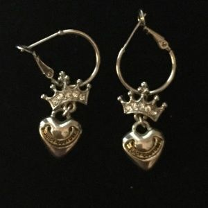 Juicy Couture pierced earrings